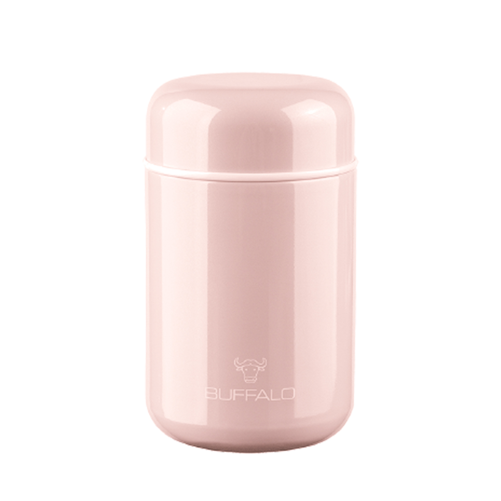 BUFFALO VACUUM CONTAINER 400ML, PINK