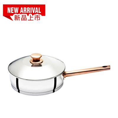 BUFFALO CLASSIC SERIES ROSE GOLD POT 24CM