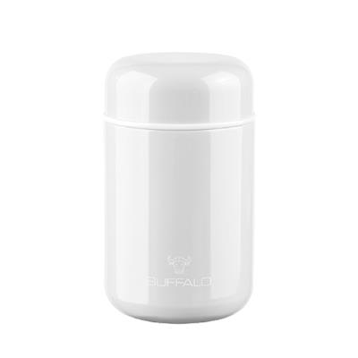 BUFFALO VACUUM CONTAINER 400ML, WHITE