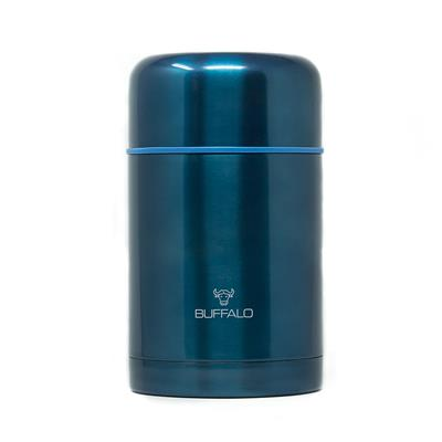 BUFFALO FOOD CONTAINER 750ML, BLUE