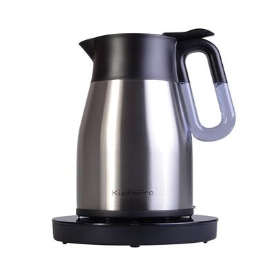 KUCHEPRO VACUUM ELECTRIC KETTLE W/ TEMP ADJ S/S