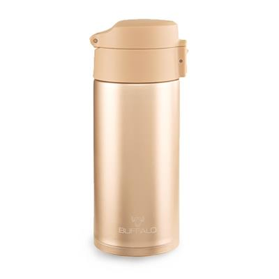 BUFFALO ONE TOUCH VACUUM CUP 400CC, GOLD