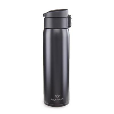 BUFFALO ONE TOUCH VACUUM CUP 480CC, BLK