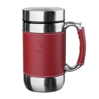 BUFFALO VACUUM MUG 520ML, RED